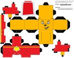 Cubee - SuperTed by CyberDrone