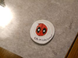 2013 Gift: Deadpool Pin by MaiShark