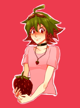 strawberry kid by yusakufujuki
