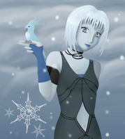 Eydis -Snow Queen by plumthedragon