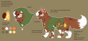 Pixel Adopt OFFER: Magician alchemist dog CLOSED by CootieSmoothie