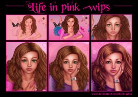 step by step life in pink by Dark-Adon