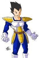 Vegeta - You Show Off by AntManTheMagnif