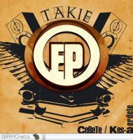 Takie EP final cover by DesignersJunior
