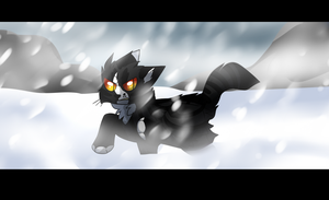 Caught in the Snow by rainwolfeh