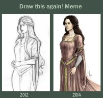 Draw this again meme II by AngieBlues