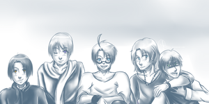 Hetalia: Allies by wasipol
