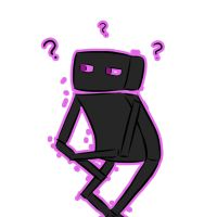 Confused Enderman by CubularParasite