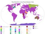 World Map of 2103 Post-Master War by VoltaliatheMajestic