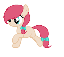 Filly with bow by Narwhals-are-beast