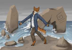 Sand, Rocks, and Swords by Painted-Shadow
