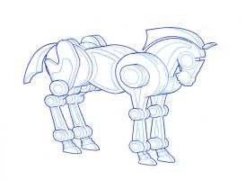 Robot Horse by VLAC
