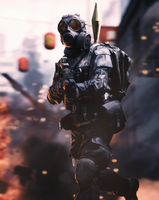 BF4 Chinese Engineer by evgenyprice