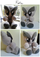 Fella Plushie up for sale! by Bienoo