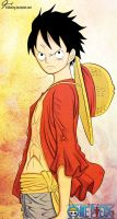 Luffy (Volume 69 Cover) by KrlTheKing