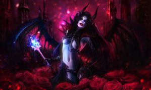 Queen of Pain by Solaice