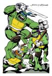 TMNT by Jack Kirby by luismario