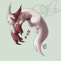 Zangoose or Mangriff by Mad-Stalker