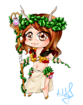 Commission- Blume by desiderata-girl