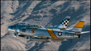 Horsemen F-86 Sabres by AirshowDave