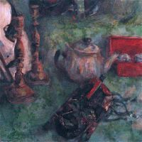 Another Oil Mask Still Life by Kunsthaus