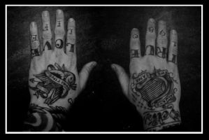 Dallas Green's Hands by just-an-artist