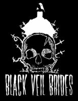 Black Veil Brides Bride Skull by MrGacey