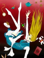 Falling Alice by Willowen