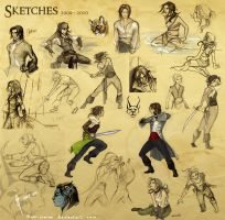 Sketches 2009-2010 by snow-jemima