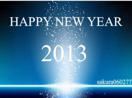 HAPPY NEW YEAR 2013 by Sakura060277