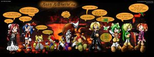 Happy Halloween by Phenix-Dawn
