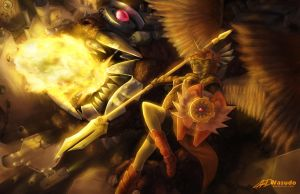 Rusted Wings by Wasudo