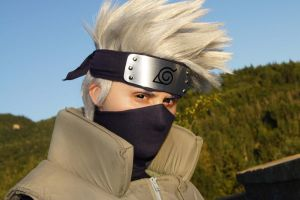 Kakashi at sunset by Suki-Cosplay