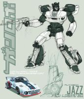 Autobot JAZZ by kiwine