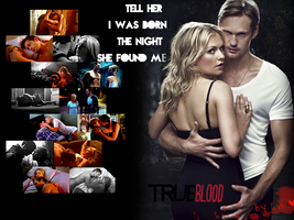 True Blood Sookie and Eric by BaDBuNnYyY
