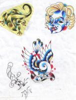 Just some Traditional Designs by keebyo