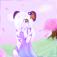 .:B-day gift:.Someone Loves me by LuneTheTiger