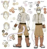 Steampunk Character Sheet by ScarletFire666