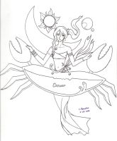 Cancer -tentative.uncolored- by mystic-blue