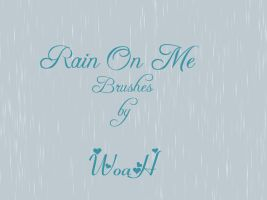 Rain On Me Brushes by WingsOfAHero