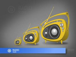 icon radio by AndexDesign