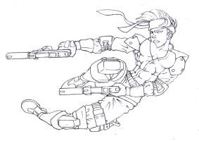 Solid Snake by thepeel