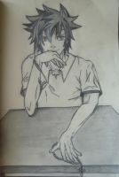 Gray Fullbuster: Highschool by Reikma