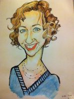 Kristen Schaal caricature by j0epep