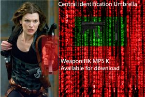 HK MP5 K Resident Evil Afterlife by nico1415
