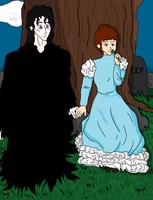 Reaper and Viviana by LeafyWildFlower