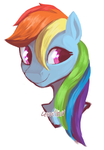 Rainbow Dash by alointz