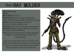 Ray Mulder The Xenomorph Ref sheet by ChristoMan