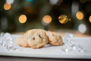 Two-bite Chocolate Chip Cookies by maytel
