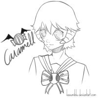 .:Sketch:. Caramell by kasumiblu